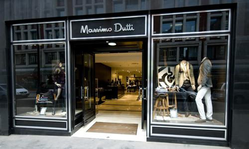 Massimo Dutti Long Acre Covent Garden London Shopfitting